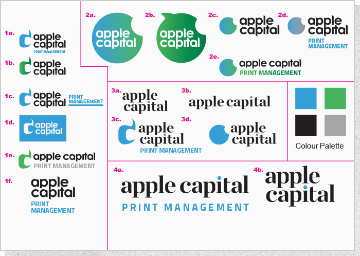 Apple Capital PM - Logo Concepts