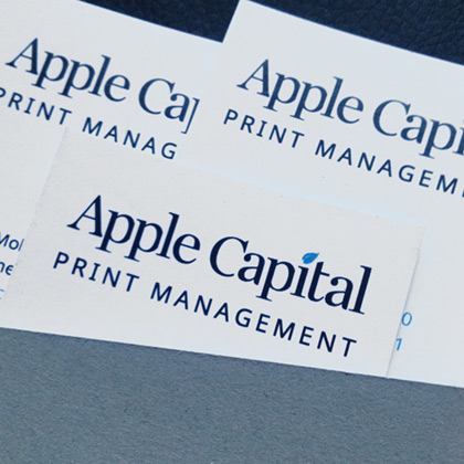Apple Capital Print Management