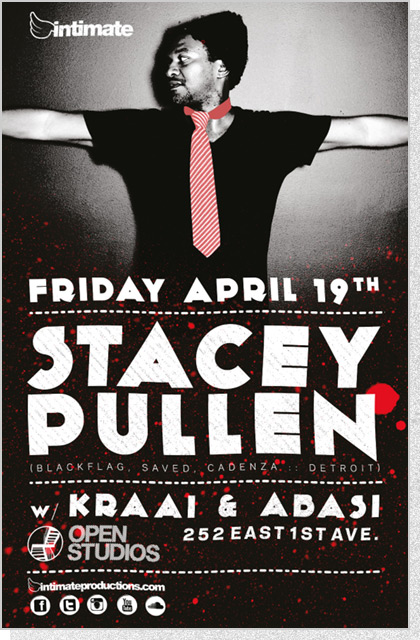 Intimate Poster - Stacey Pullen