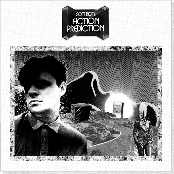 "Soft Riot ""Fiction Prediction"" Cover Panel"