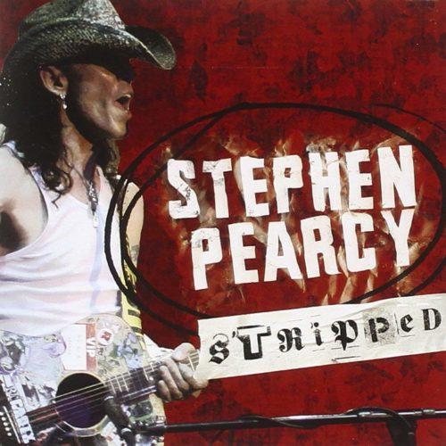 "Stephen Pearcy | ""Stripped"" CD cover"