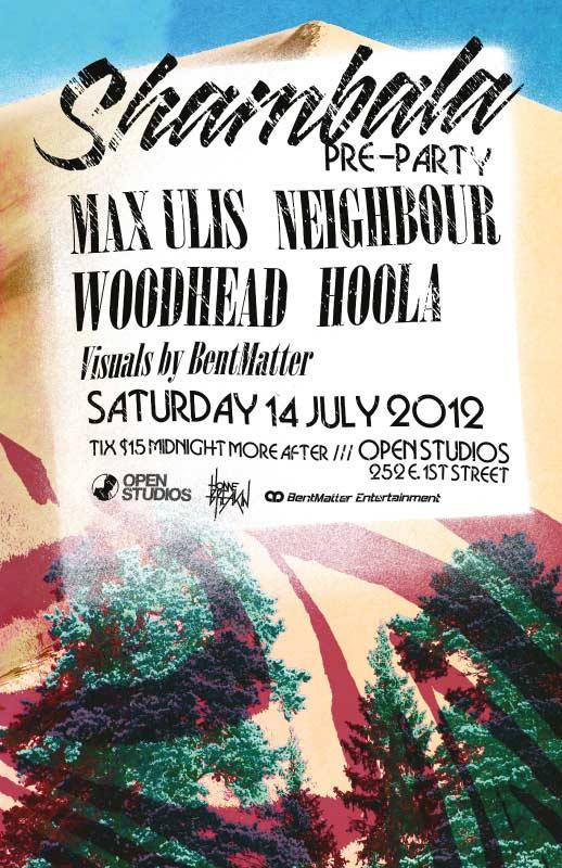 Open Studios | Poster - Shambala - July 14, 2012