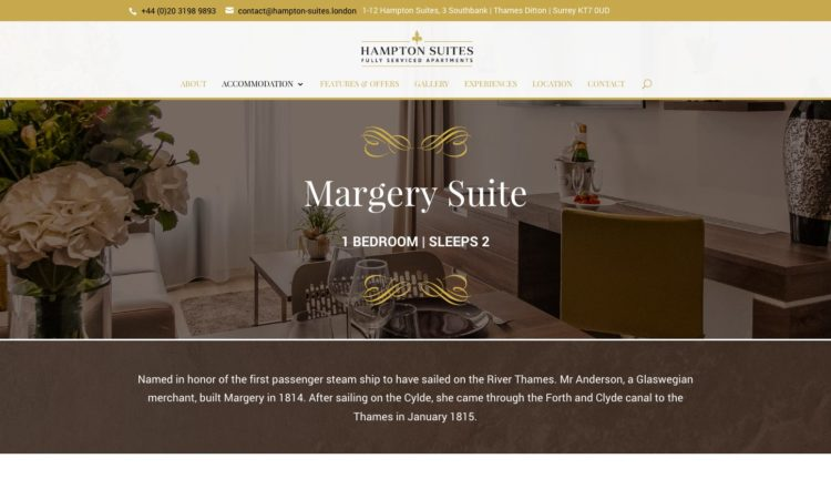 Hampton Suites | www.hampton-suites.london - Suite
