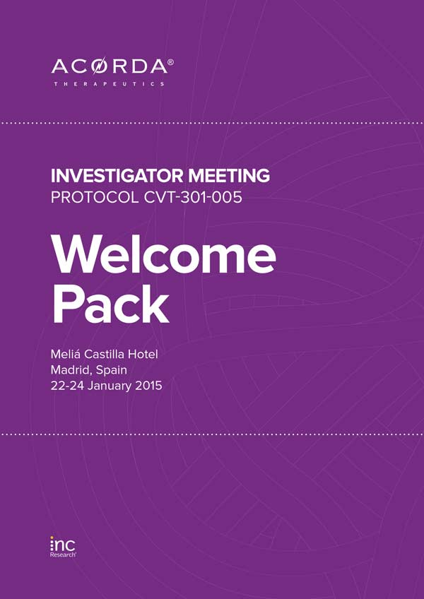 Inc Research | IncAcorda Welcome Pack, January 22, 2015
