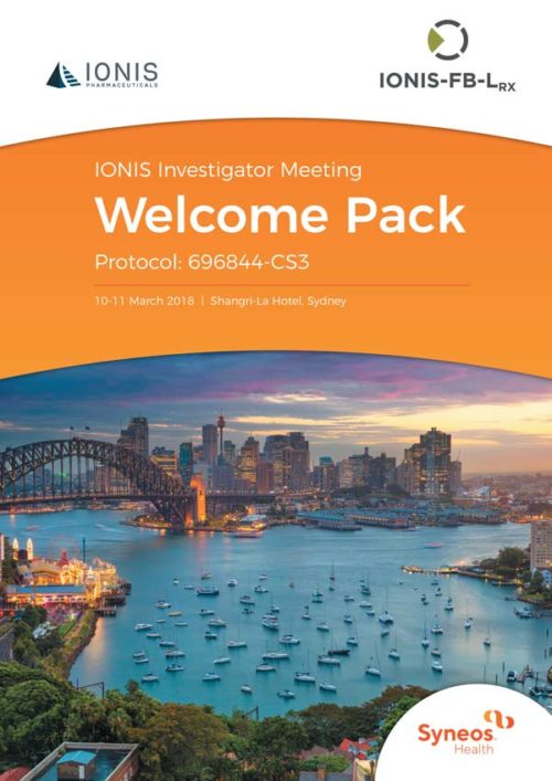 Syneos | Ionis Welcome Pack, March 2018