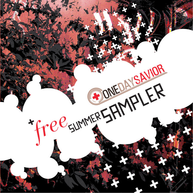 "Lumberjack Distribution | ""One Day Saviour"" Free CD Sampler - Cover"