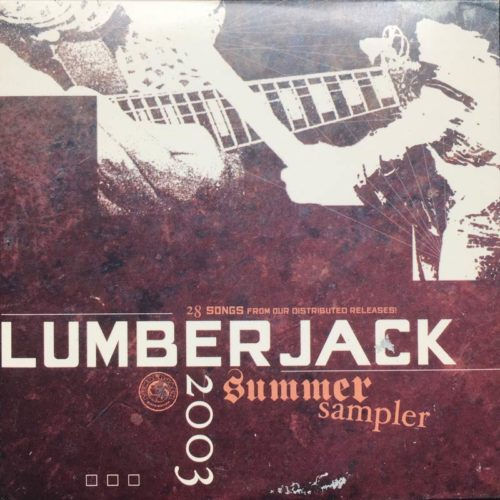 "Lumberjack Distribution | ""Summer Sampler"" Free CD Sampler - Cover"
