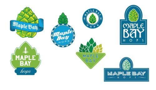 Maple Bay Hop Farm | Logo Concepts - Round 1