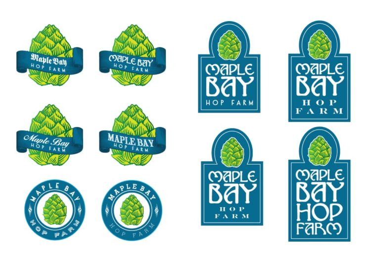 Maple Bay Hop Farm | Logo Concepts - Round 3
