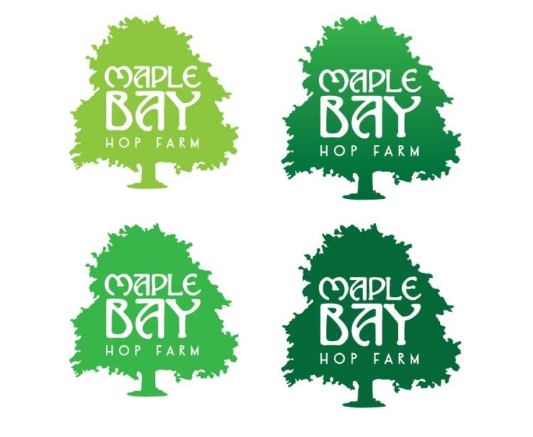 Maple Bay Hop Farm | Logo Concepts - Round 2