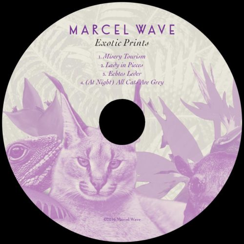 "Marcel Wave | ""Exotic Prints"" CD Face"