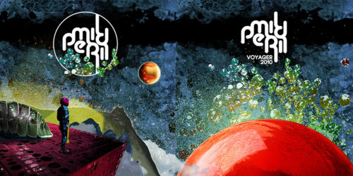 "Mild Peril | ""Voyager"" & ""Unknown Zones"" - Cover Spread"