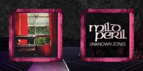 "Mild Peril | ""Unknown Zones"" - Inner Spread Front"