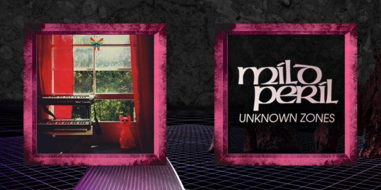 "Mild Peril | ""Unknown Zones"" - Inner Spread Front"