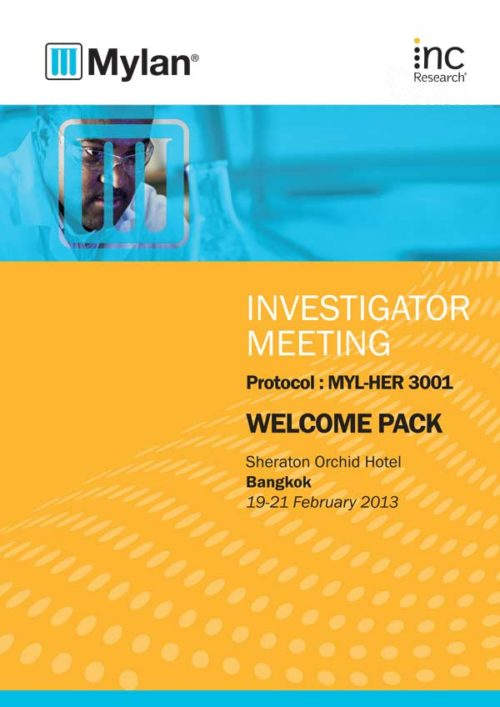 Inc Research | Mylan Welcome Pack, February 19, 20137