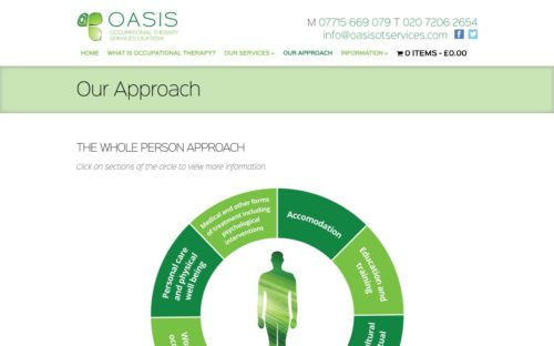 Oasis Occupational Therapy | Website - Our Approach