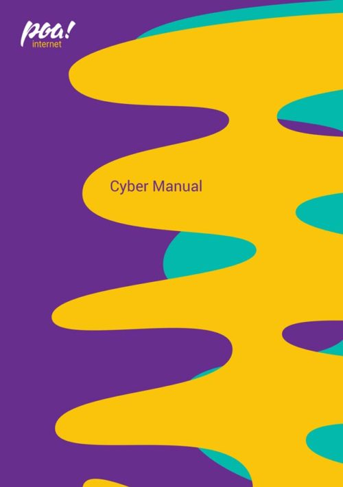 Poa! Internet | Cyber - A4 Manual Cover