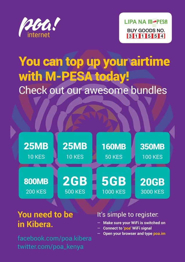 Poa! Internet | A3 Retail Poster