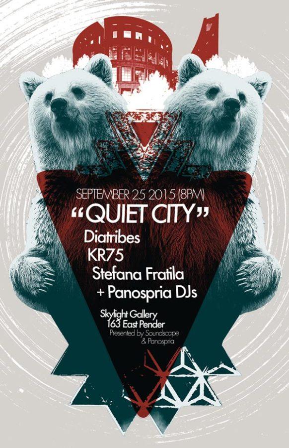 Panospria - Quiet City | Poster - September 25, 2015