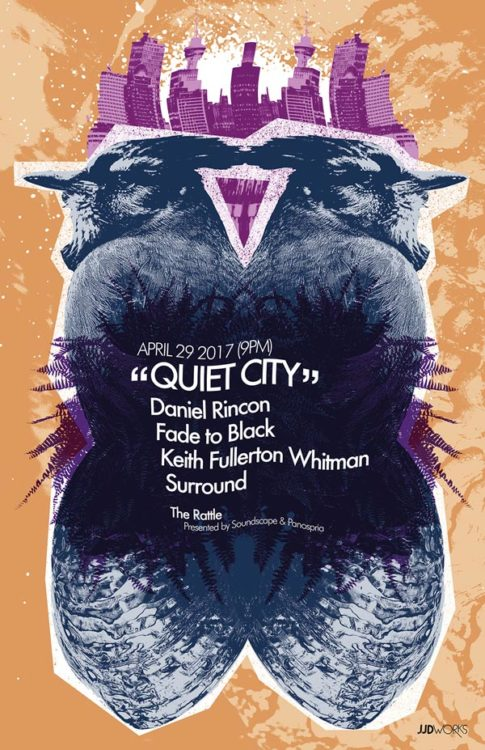 Panospria - Quiet City | Poster - April 29, 2017