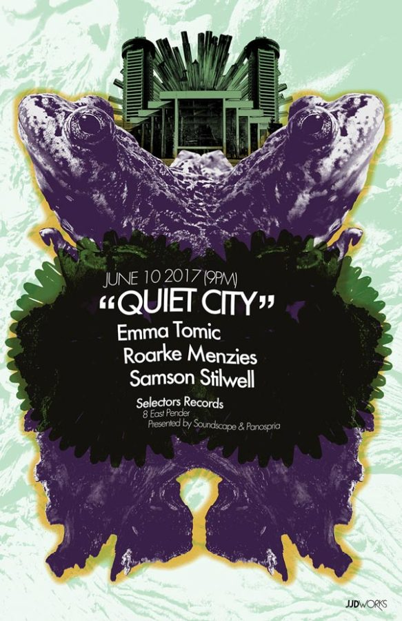 Panospria - Quiet City | Poster - June 10, 2017
