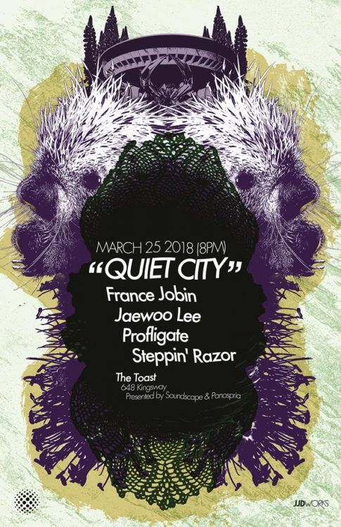 Panospria - Quiet City | Poster - March 25, 2018