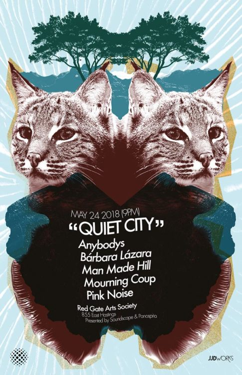 Panospria - Quiet City | Poster - May 24, 2018