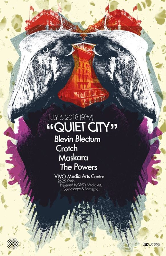 Panospria - Quiet City | Poster - July 6, 2018