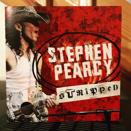 "Stephen Pearcy | ""Stripped"" Pack Shot"