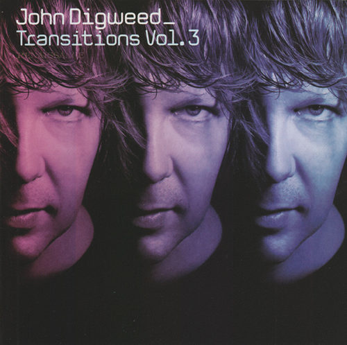 "Thrive Records | John Digweed ""Transistions Vol. 3"" CD Cover"