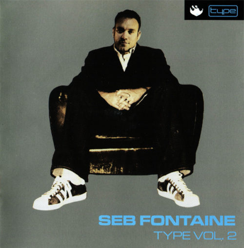 "Thrive Records | Seb Fontaine ""Type"" CD Cover"