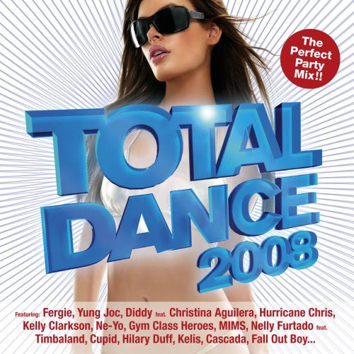 "Thrive Records | ""Total Dance 2008"" CD Cover"