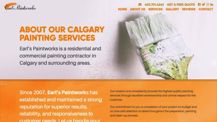 Earl's Paintworks | www.earlspaintworks.ca - About Us
