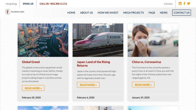 Foundation Capital | www.foundationcapitalinvestments.com - News