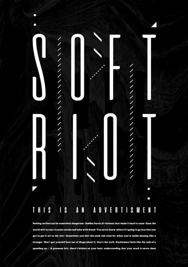 "Soft Riot | ""This Is An Advertisment"" Poster"