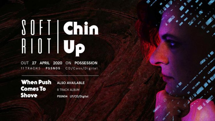 "Soft Riot | ""Chin Up"" Social Media banner"