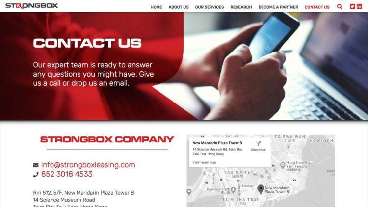 Strongbox Company | www.strongboxcompany.com - Contact Us