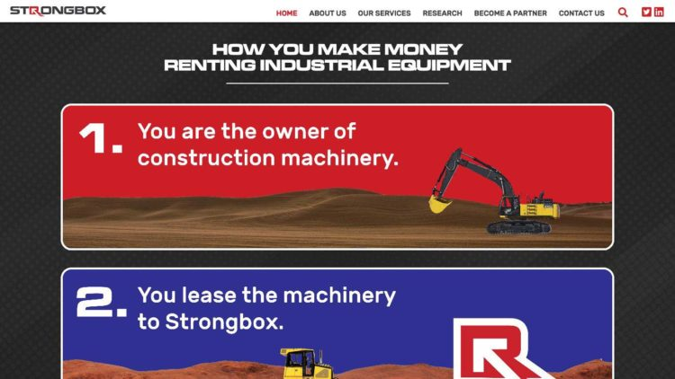Strongbox Company | www.strongboxcompany.com - HTML5 Animations