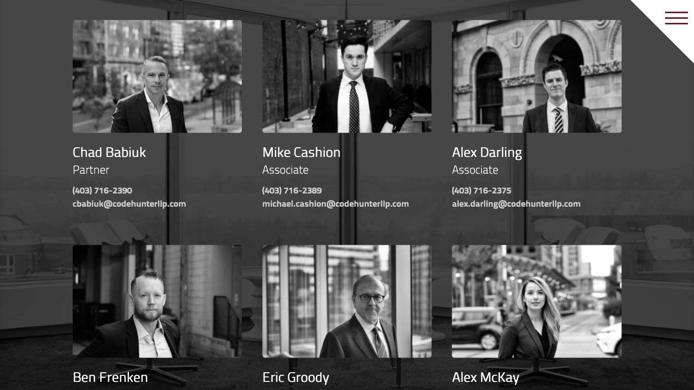 Code Hunter Barristers LLP | Barristers Section (2)