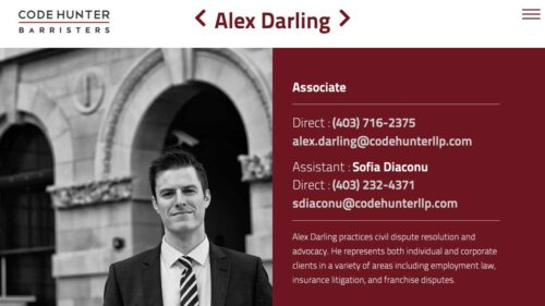 Code Hunter Barristers LLP   Barristers - Single Page