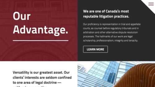 Code Hunter Barristers LLP   Home Page Modules