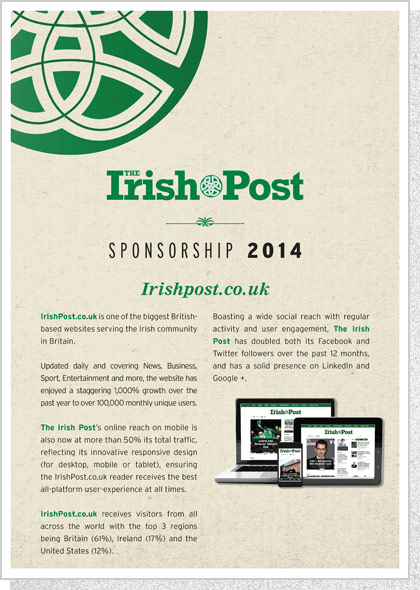 The Irish Post | Sponsorship Insert