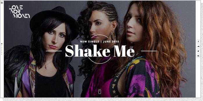 Love Nor Money | Website Screenshot