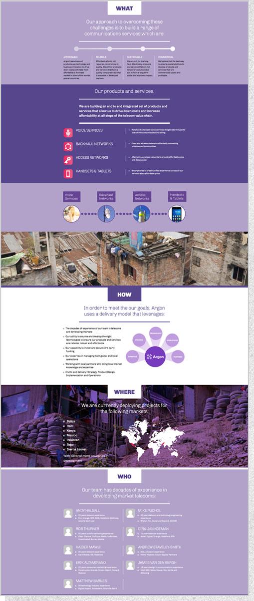 Argon Telecom | Site Segment