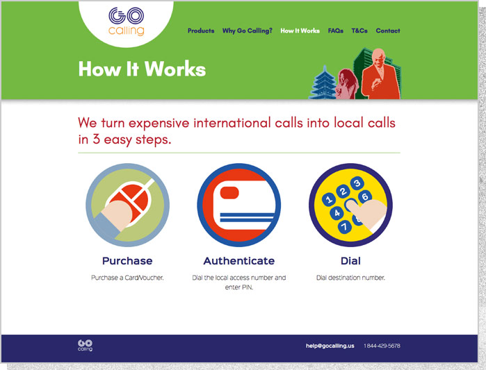 Go Calling | How It Works